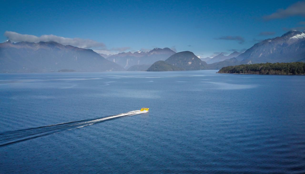 Jet Boat + Kepler Track Hike