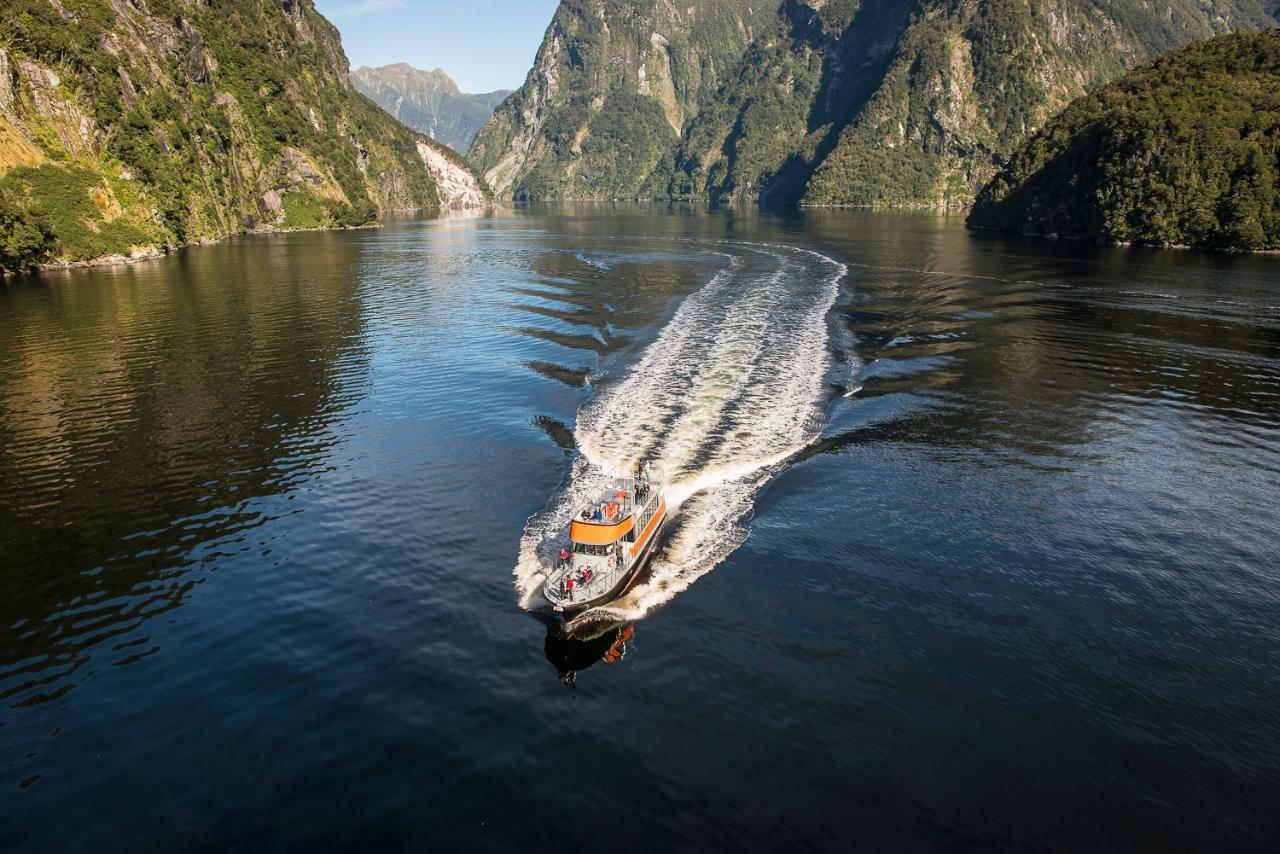Real Journey's Doubtful Sound Day Cruise