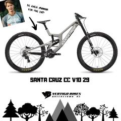 Santa Cruz V10 C 29 DH Bike Size Large Full Day