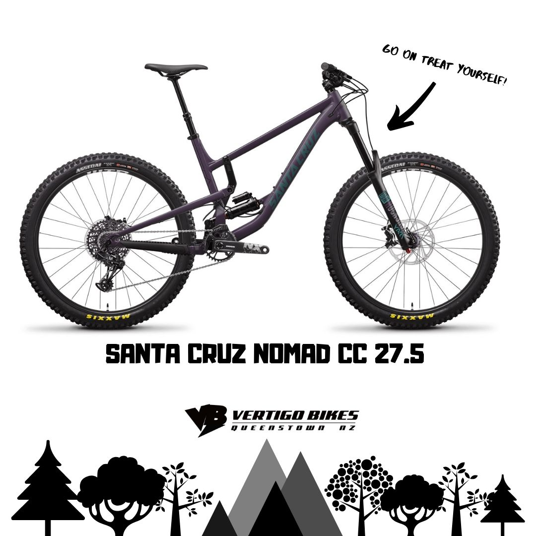 Santa Cruz Nomad C 27.5 Size Large