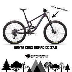 Santa Cruz Nomad C 27.5 Size Medium