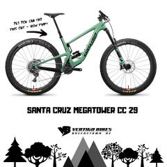Santa Cruz Megatower C 29 Size Large Full Day