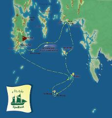 Dive n' Chill Cruise for 4 Days visiting Phi Phi, Krabi and Racha Islands