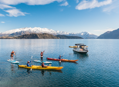 Kayak or Paddle Board plus Water Taxi