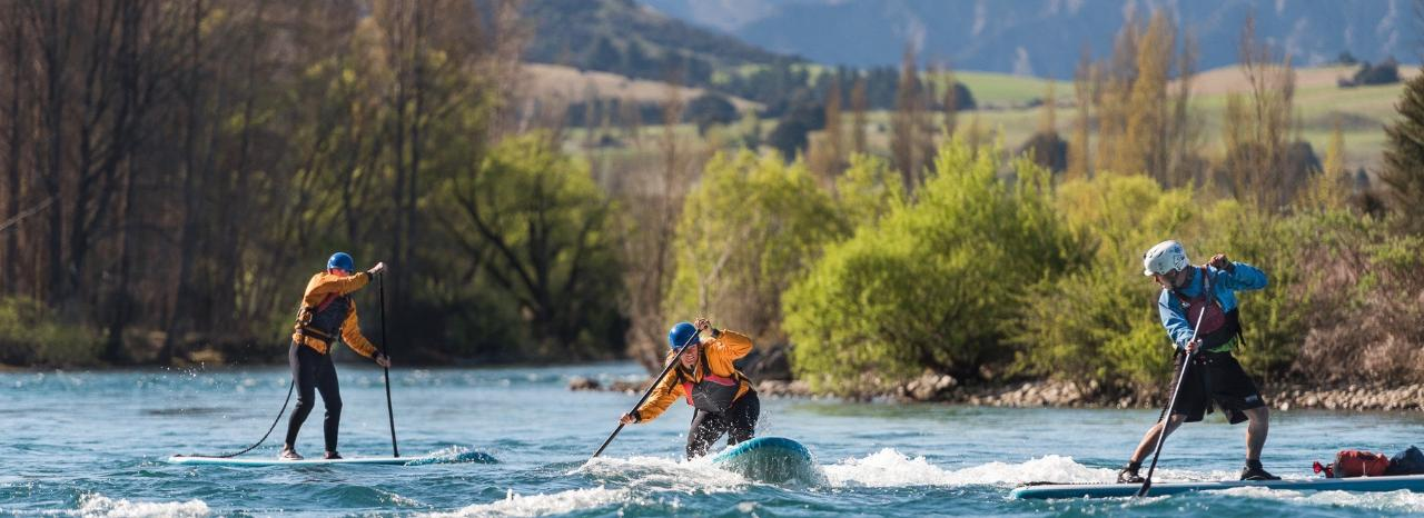 SUP the Clutha River - Lower Pro