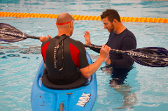 Kayak Rolling Clinic - Pool. 4th Sept