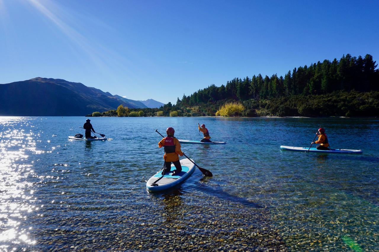SUP the Clutha River - Taster