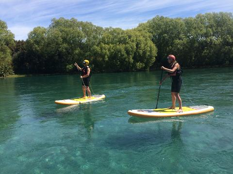 SUP the Clutha River