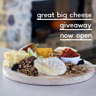 The EOFY Great Big Cheese Giveaway