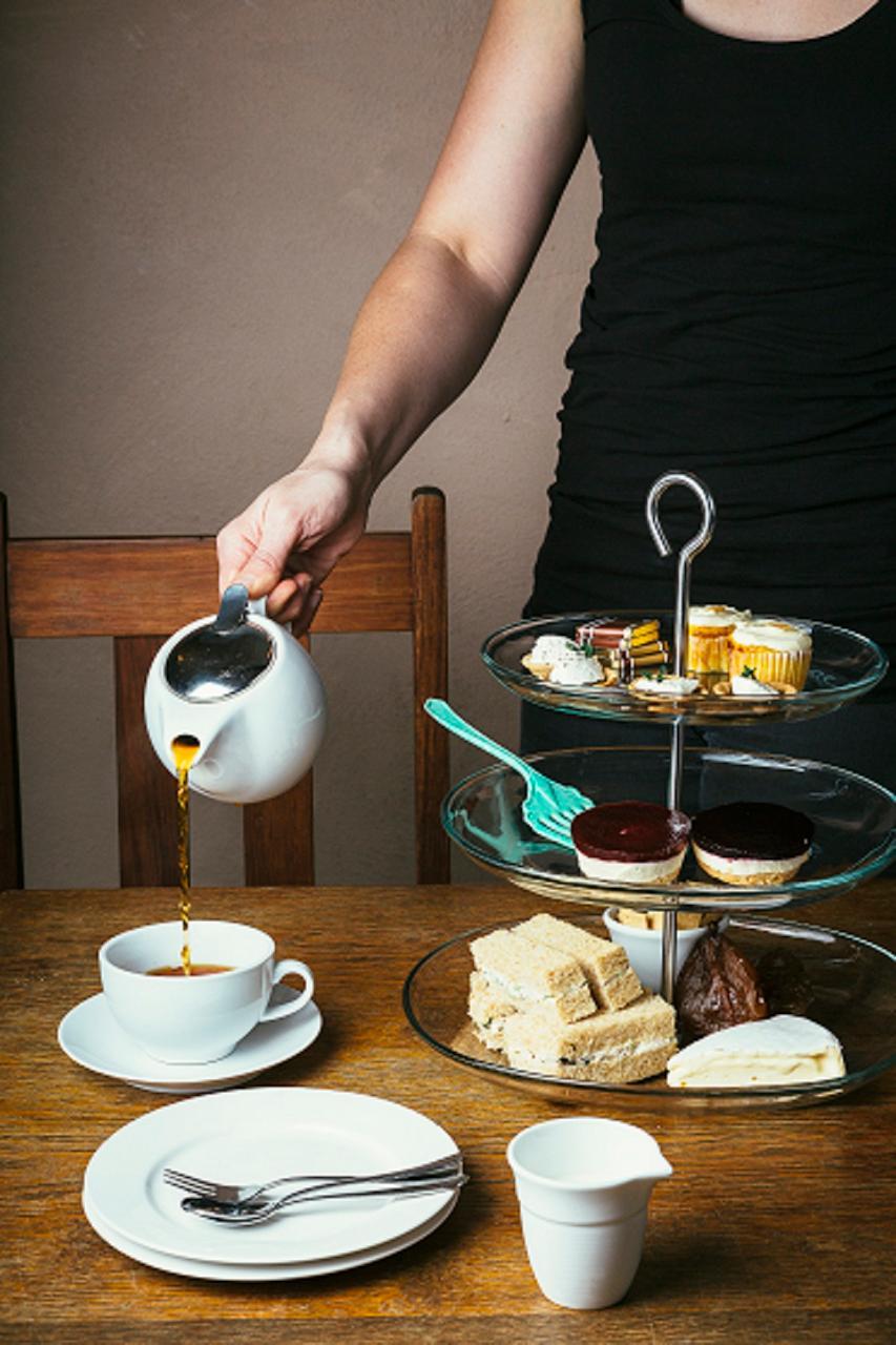 Udder Delights Deluxe High Tea