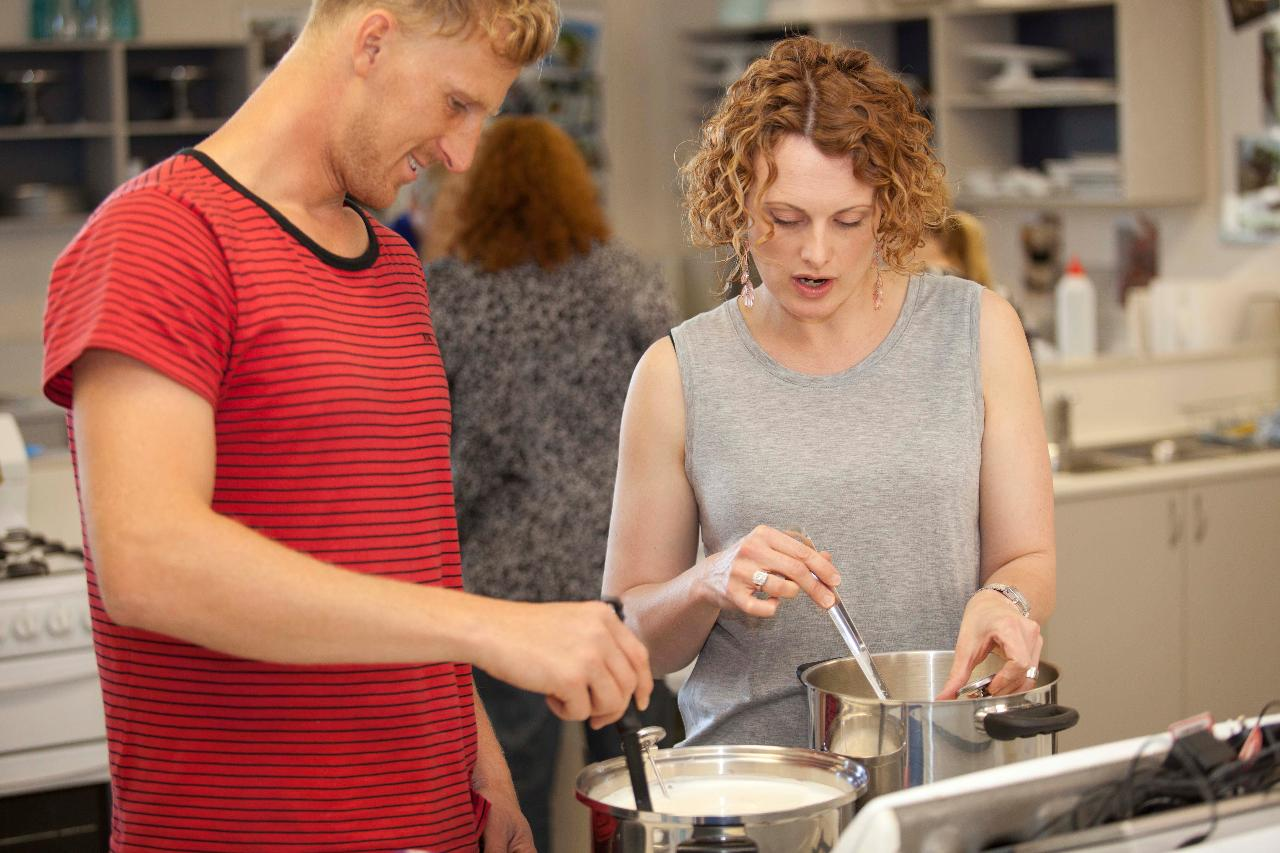 Easy Cheesy Home Cheese Making Class