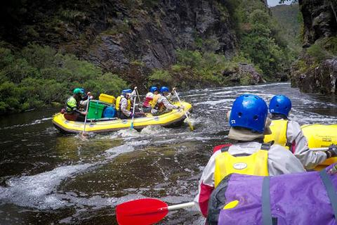 Franklin River Rafting & Frenchman's Cap 11-day Expedition Tasmania Australia