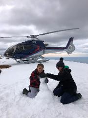 Kaikoura Snow Landing Experience - Build a Snowman!