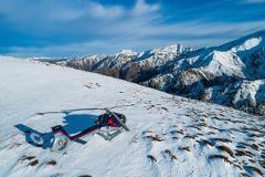 Kaikoura Helicopters Snow Landing