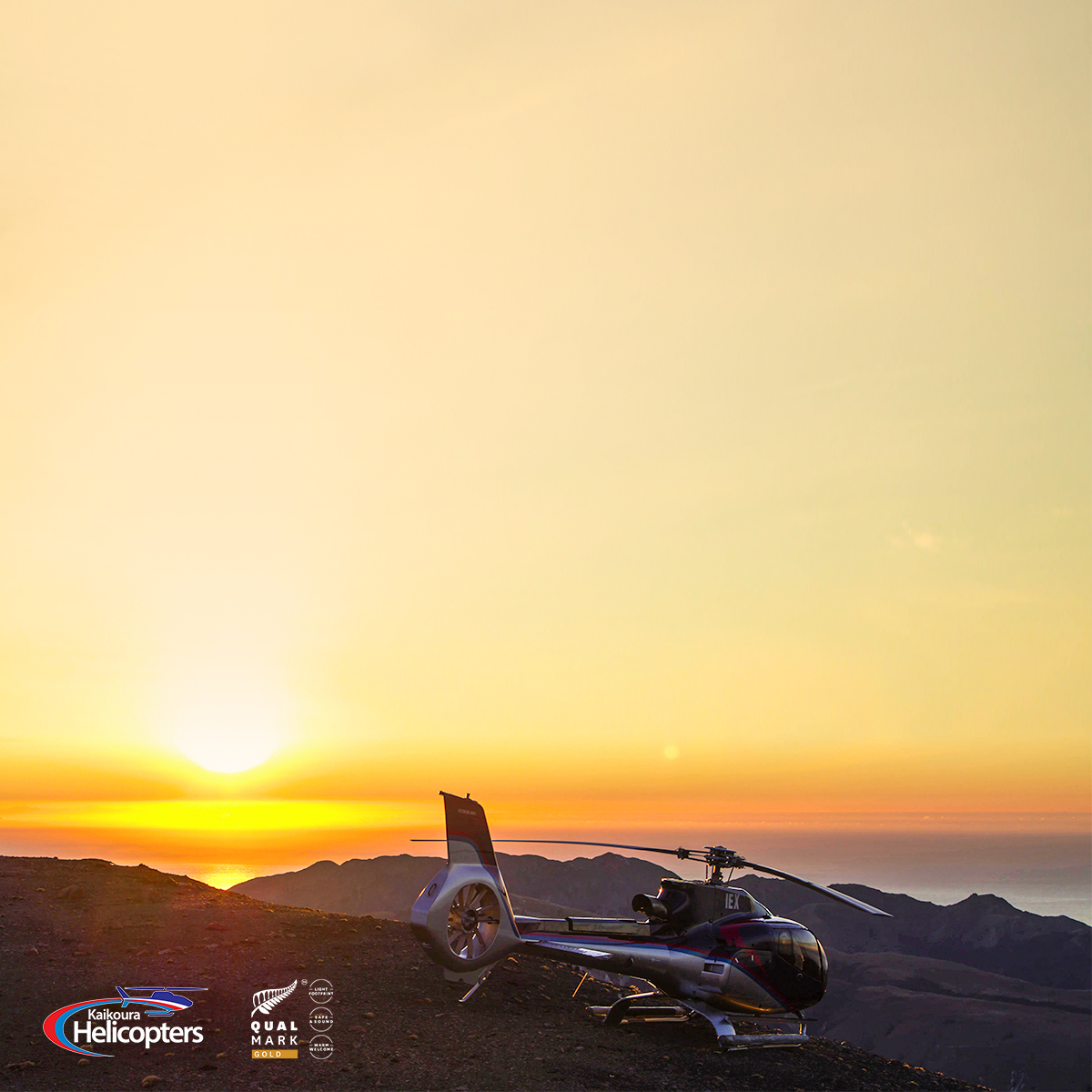 Kaikoura Helicopters Sunrise / Sunset flights