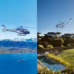 Complete Kaikoura - Whale Watching and Hapuku Lodge lunch