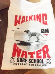Surfing Dog T Shirt