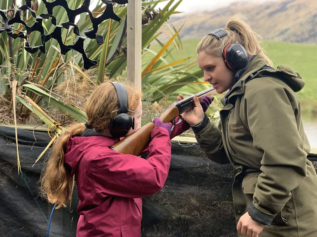Clay Target Shooting and Target Shooting with Rifle