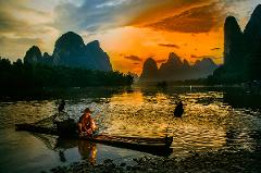 Flexible Guilin Day Tour: Li River Cruise & A Downtown Site