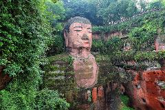 Chengdu Private Tour of Leshan Giant Buddha & Lingyun Temple