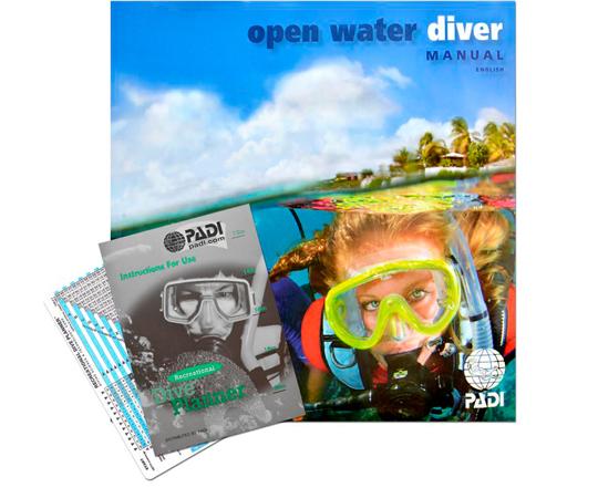 PADI Open Water Diver -  Digital Manual Included