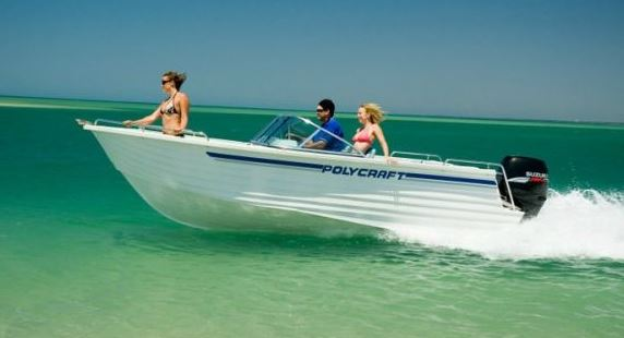 Polycraft Bowrider Speedy 100HP - Per Hour