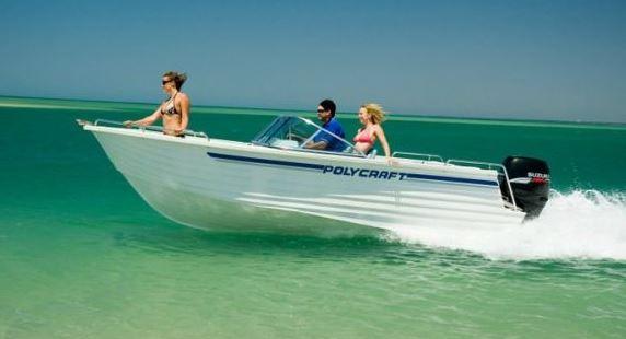 Polycraft Bowrider Speedy 100HP - Full Day