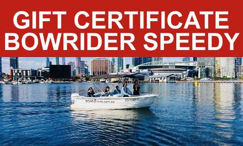 GIFT CARD - Bowrider Speedy (4HRS)