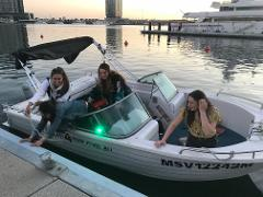 Polycraft Bowrider Mary 100HP - Full Day