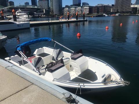 Polycraft Bowrider Joy 40HP - Half Day