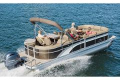 Pontoon Party Boat Hire: Half Day
