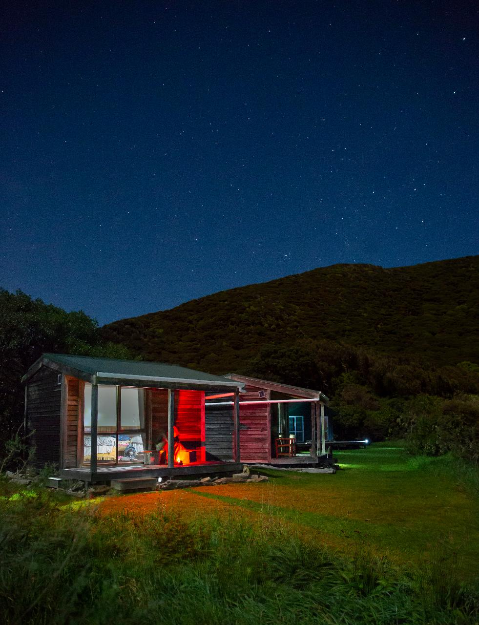 Kapiti Overnight Tour - Cabin