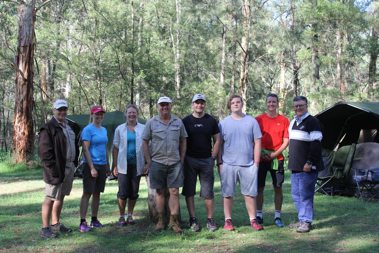 Blue Mountains overnight camping experience