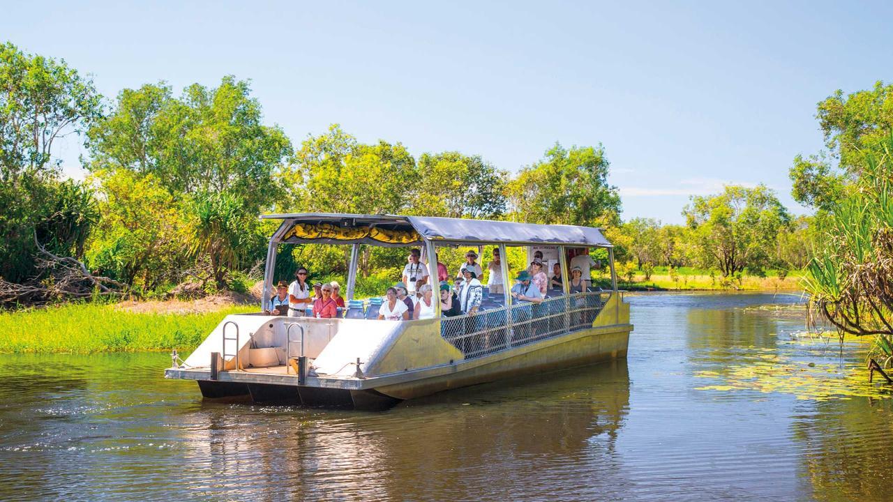 Yellow Water Cruise - Kakadu Nationalpark, NT, Australia