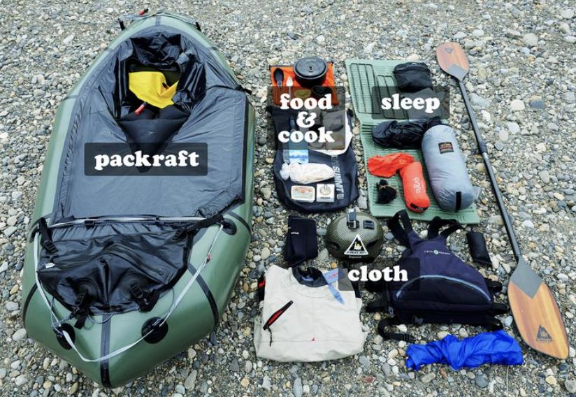 packrafting 101