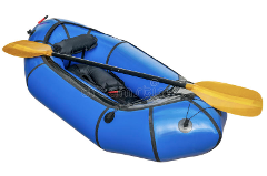 Packrafting full set up