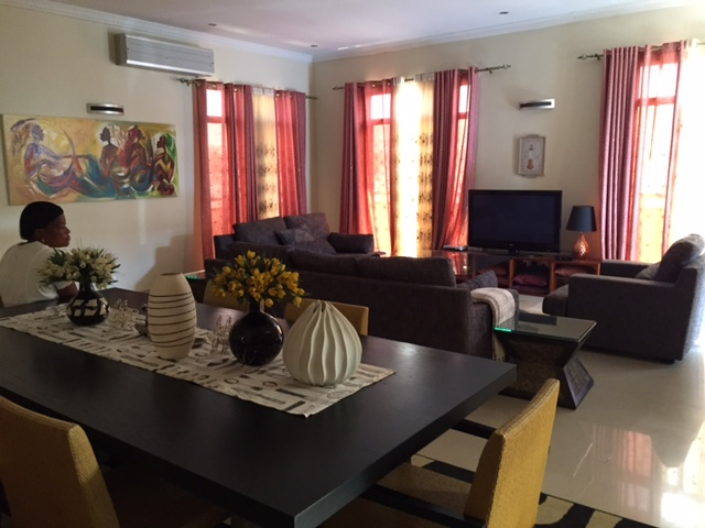 Apartment Rental in Kinshasa - Downtown, Furnished, Super-Secure, and Luxury with all Utilities (Monthly)
