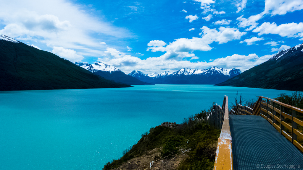 Lake Argentino and Cerro Buenos Aires (From El Calafate)