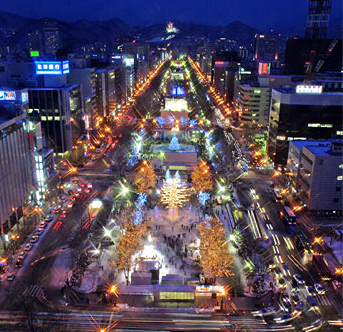 Sapporo By Night and Nightlife - With Plenty of Beers and Lights, and Festivals Included! (When In Season)
