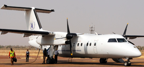 NTT Express Plane: Niamey < > Agadez (To and From) Shuttle Flight (By Aircraft)