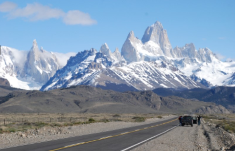 Argentina to Chile: Transfer from El Calafate to Torres Del Paine (Puerto Natales)