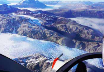 Aerial tour of Torres del Paine - Chilean Patagonia (From Puerto Natales)