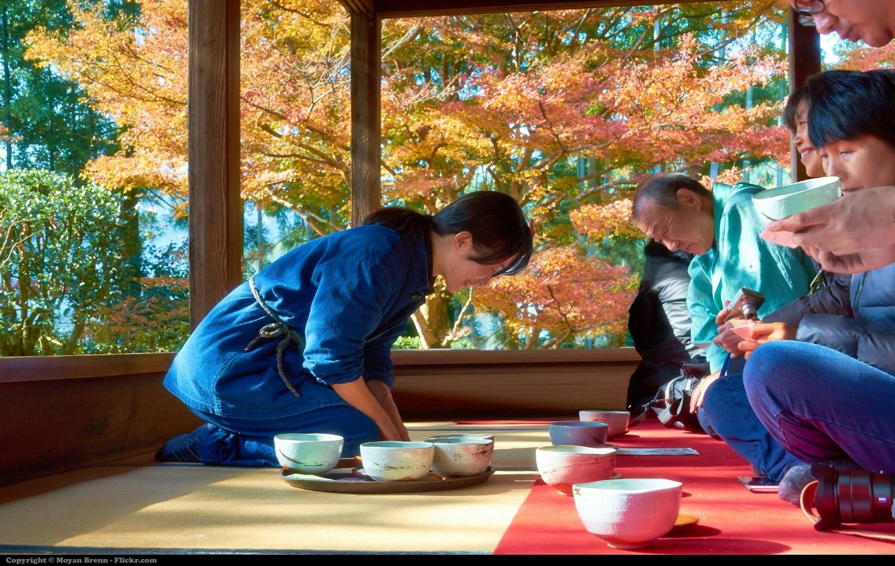 Japan's Golden Age and Authentic Tea Ceremony In Kyoto