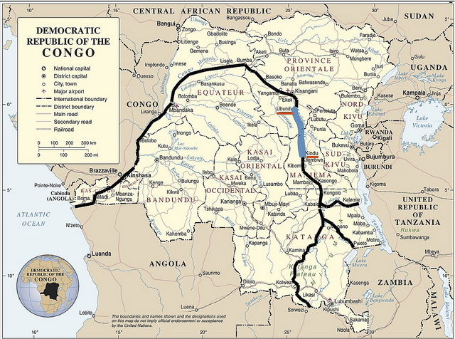 Complete Congo River Cruise (22 days)