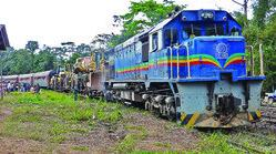 Congo Epic Jungle Train