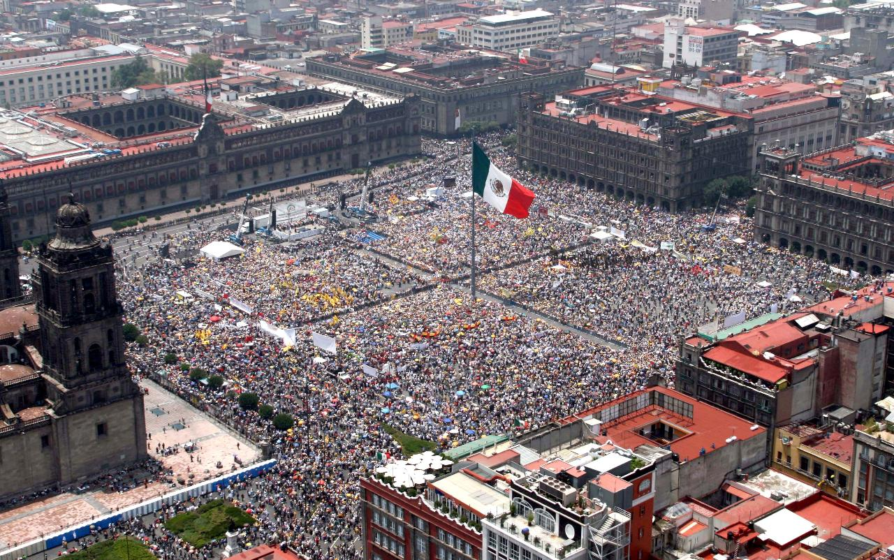 Mexico City Helicopter Tour