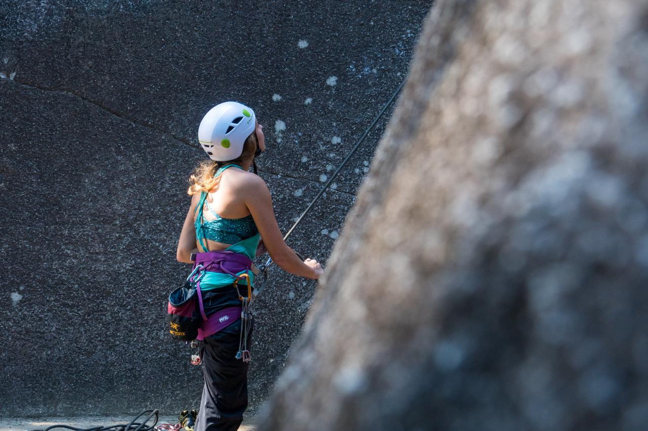 Half Day Single-Pitch Climbing