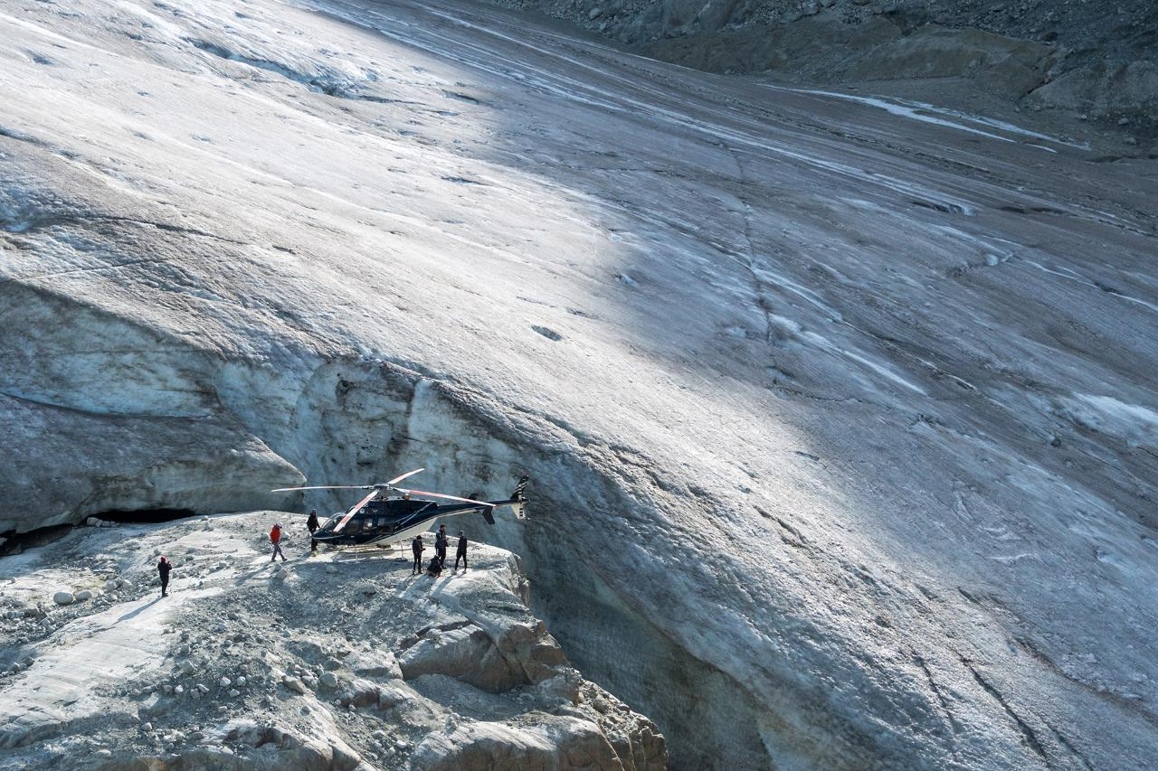Heli Glacier