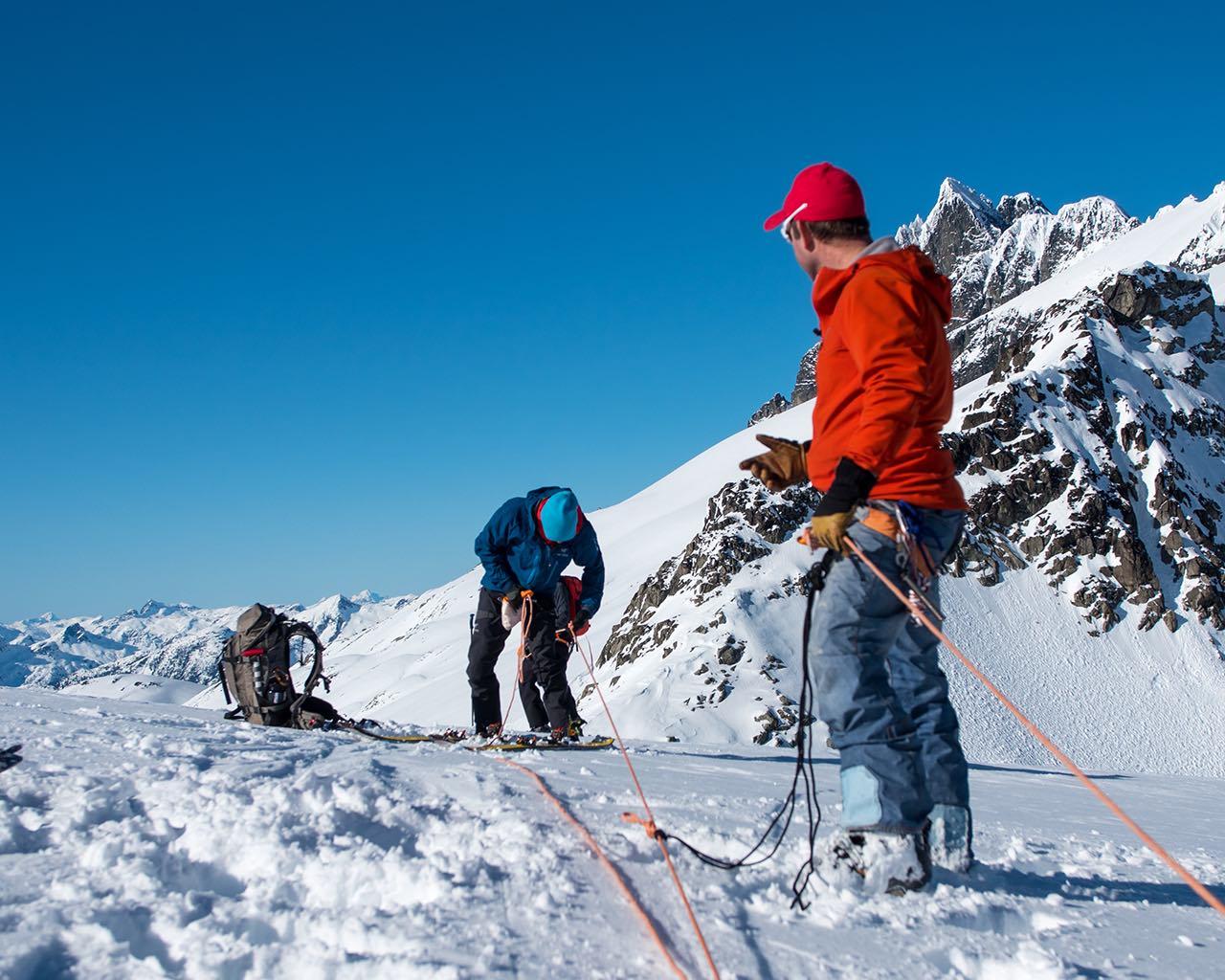 Private - Winter Crevasse Rescue & Glacier Travel
