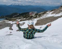 Glacier Glissading - without lift ticket